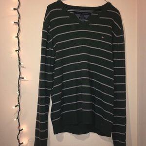 Stripped Long Sleeve Sweater